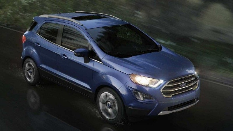 2018 Ford Ecosport Ford Ecosport In Palestine Tx All Star Ford
